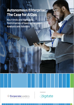 Digitate AIOps Report cover