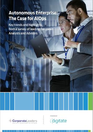 Digitate AIOps Report cover